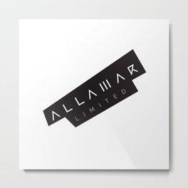 Allamar Limited Metal Print