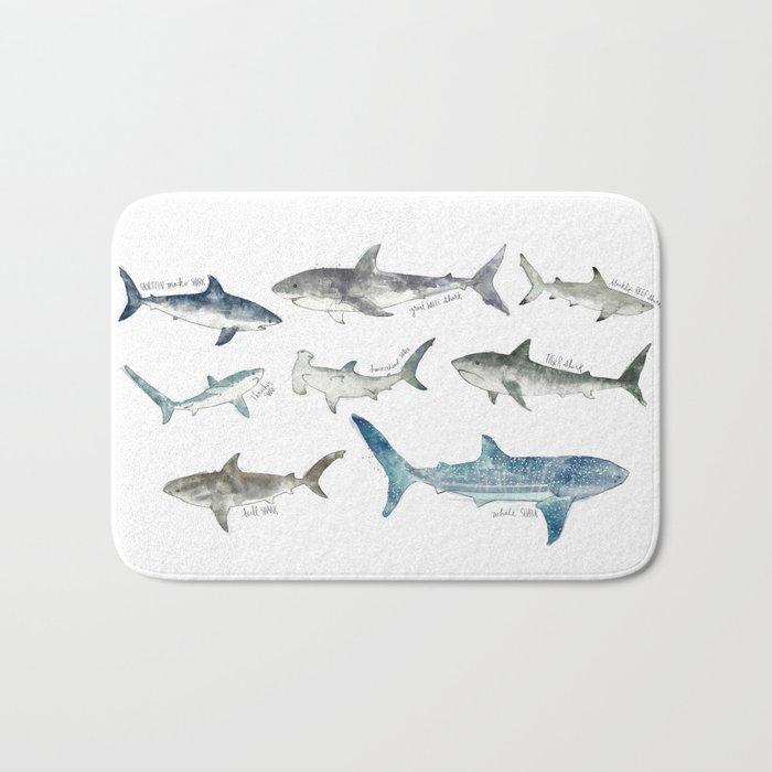 Sharks Bath Mat