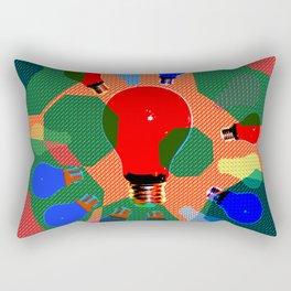 FESTIVE LIGHTS Rectangular Pillow
