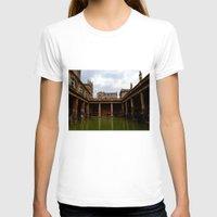 england T-shirts featuring Bath, England by Samantha Brockbank