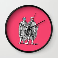 Classic men have a party Wall Clock