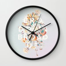 Bro Down, Broad Up Wall Clock