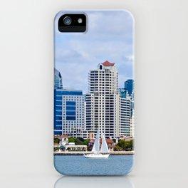 Sail On San Diego Bay iPhone Case