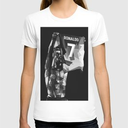 Cristiano on WPAP Pop Art Portrait T-shirt