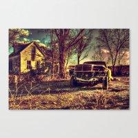 mercedes Canvas Prints featuring Cele Mercedes by Flashbax Twenty Three