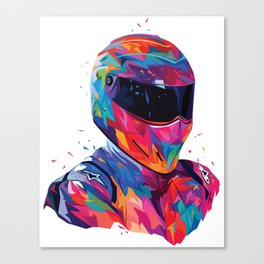 The Stig abstract Canvas Print