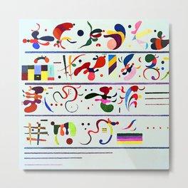 Wassily Kandinsky Succession Metal Print
