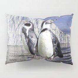 Penguins and Glacier Pillow Sham