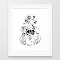 halloween Framed Art Prints featuring Halloween by Cassandra Jean