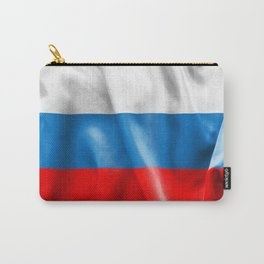 Russian Federation Flag Carry-All Pouch