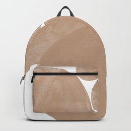 Minimalist Beige Art Backpack