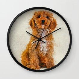 Cockapoo Wall Clock