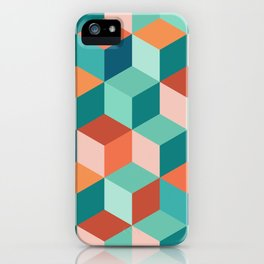 Abstract Geometric Pattern 03 iPhone Case