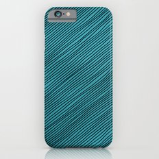 Stripes - turchese Slim Case iPhone 6s