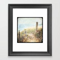 Houat #1 Framed Art Print