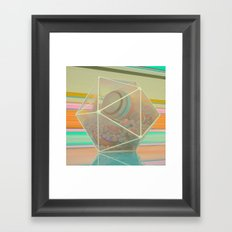LOCKED IN / KICKED OUT (everyday 12.29.16) Framed Art Print
