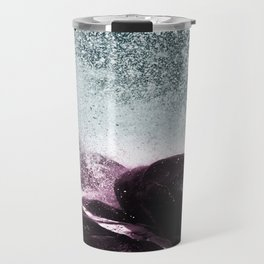 Navy Blue Sea Water Travel Mug