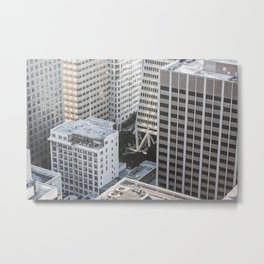 Skyscrapers in San Francisco Metal Print