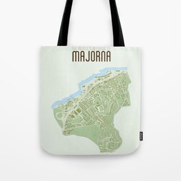 Map of the people's republic of Majorna Tote Bag