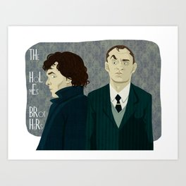 The Holmes Brothers Art Print