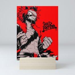 RED RIOT / KIRISHIMA EIJIRO - MY HERO ACADEMIA Mini Art Print