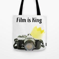 Film is King Tote Bag