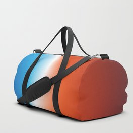 Blue and Red - Abstract Design Duffle Bag