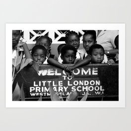 Little London in Jamaica Art Print