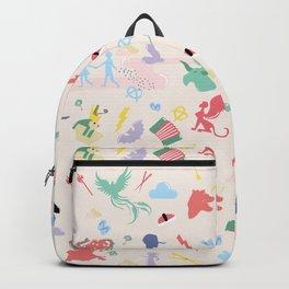 Mythological pattern Backpack