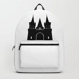 Kingdom Castle Silhouette Backpack