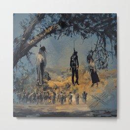 The Hanged Man Metal Print