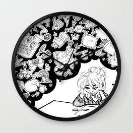 The Artist's Mind Wall Clock