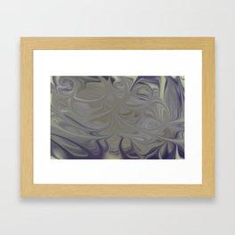 Smudged Colours 16 Framed Art Print