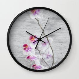 The Color Of Flowers Wall Clock