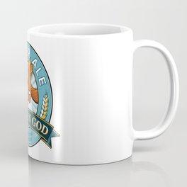 Golden God Amber Ale label Coffee Mug