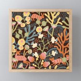 Vintage Art Fantasy Nature Pattern Framed Mini Art Print
