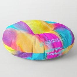 Silk Fiesta Floor Pillow