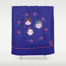 Happy Women! Shower Curtain