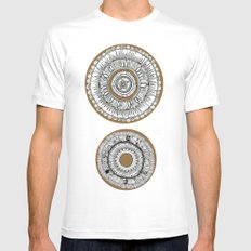 Double Different  Mens Fitted Tee White MEDIUM
