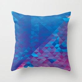 ▼▲▽△ Throw Pillow