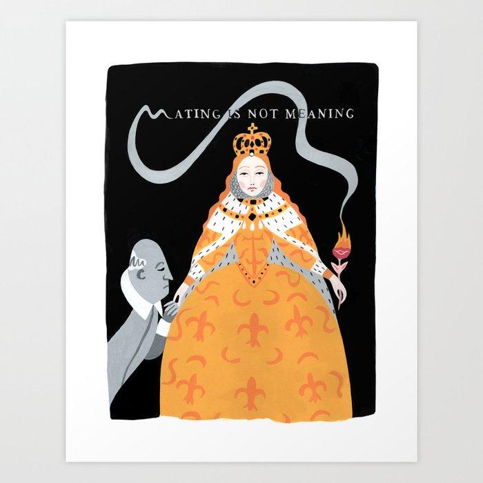 Queen Elizabeth I Art Print