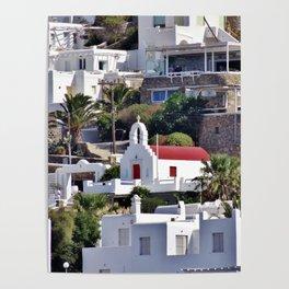 Red Door Church Poster