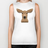 bambi Biker Tanks featuring Bambi by ArtLovePassion