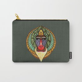 Mandrillus Sphinx Carry-All Pouch