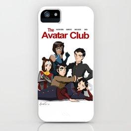 The Avatar Club iPhone Case