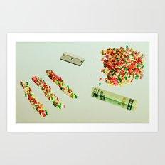 CandyCaine Art Print
