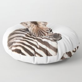 Baby Zebra Floor Pillow