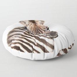 Baby Zebra Floor Pillow