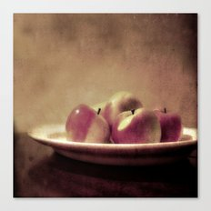 Lady Apples Canvas Print