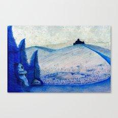 Munchy Canvas Print
